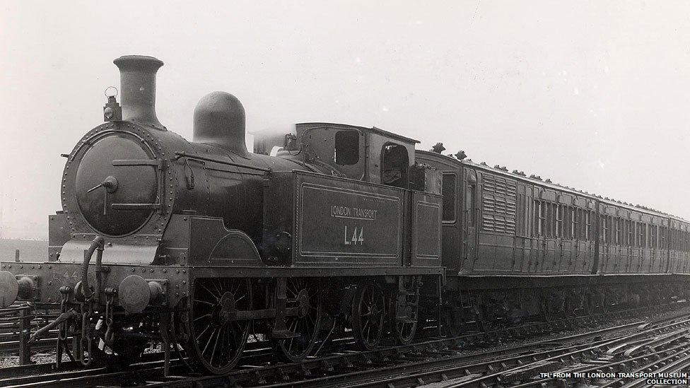 Sandburg's Hometown - Robert Colville, Master Mechanic |Steam Engine Train From 1800s