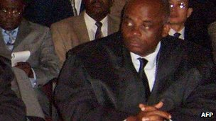 Fabian Nsue Nguema in court in 2004
