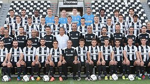 PAOK FC team photo (courtesy of PAOK FC)