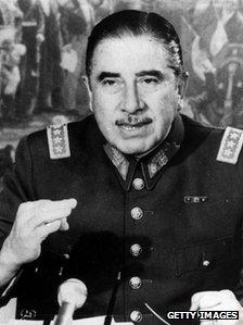 Gen Augusto Pinochet - file photo