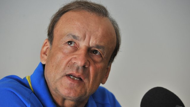 Niger coach Gernot Rohr