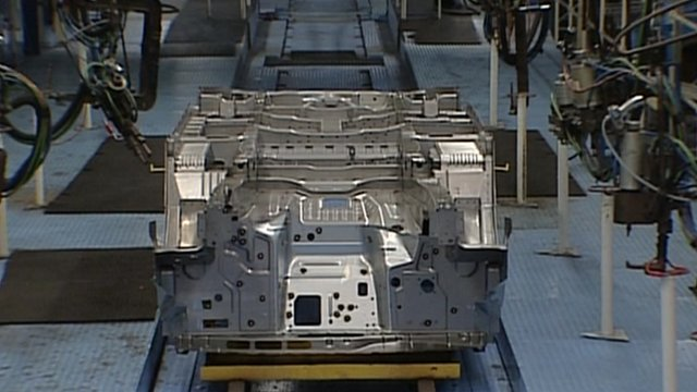 Ford Transit production line