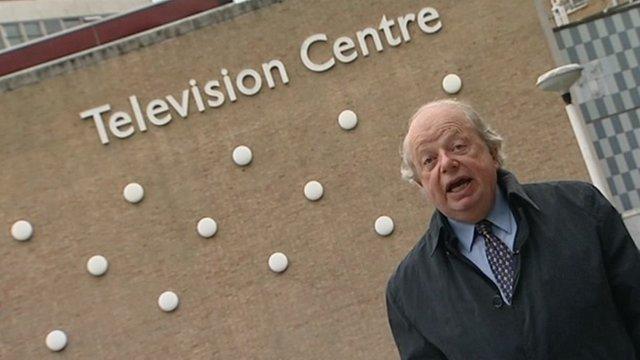 John Sergeant at TV Centre
