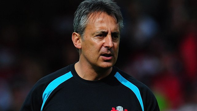 Gloucester's Director of Rugby Nigel Davies