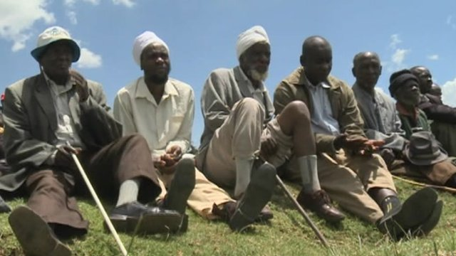 Men in Kenya