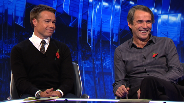Graeme Le Saux and Alan Hansen