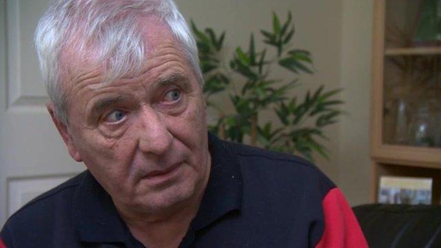 Former hospital porter Terry Pratt