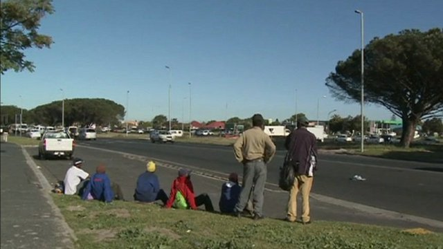 Unemployed South Africans