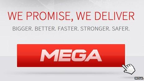 Screenshot of Mega