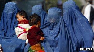 Women on the Pakistan-Afghanistan border