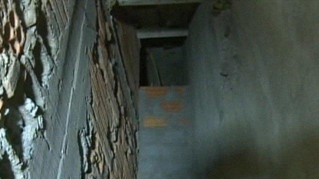 Drug tunnel found in Brazil