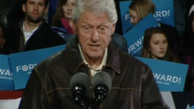 Bill Clinton in Virginia