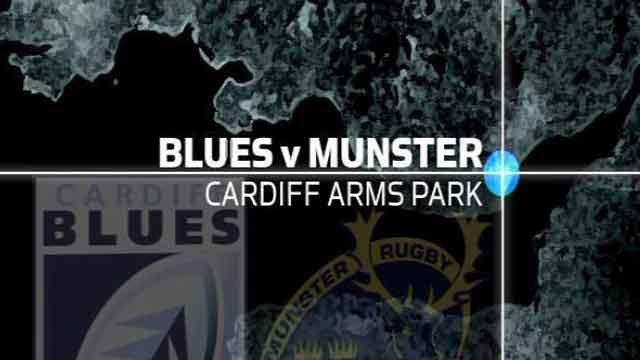 Pro12: Cardiff Blues 18-24 Munster