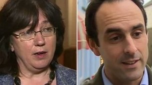 Christine Gwyther a Christopher Salmon
