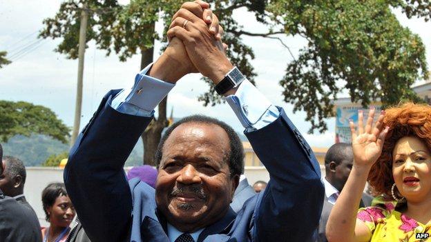 Paul Biya, Cameroon's president, 2011