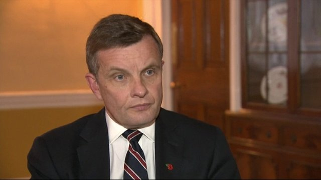 David Jones, Secretary of State for Wales, discusses the allegations