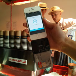 iZettle in action