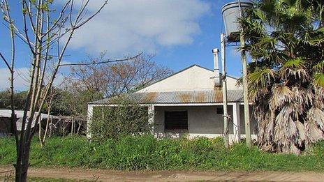 casa presedintelui Uruguay