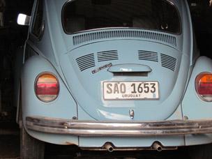 Masina prededintelui Uruguay