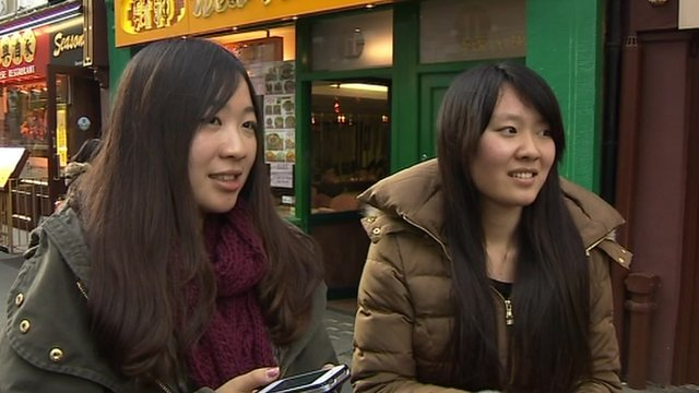 Women in Chinatown vox pop