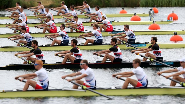 London 2012 Olympic rowing