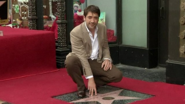 Javier Bardem and his star