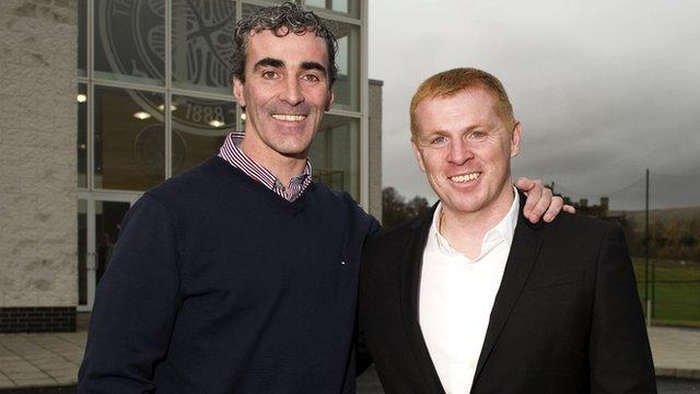 Jim McGuinness and Neil Lennon