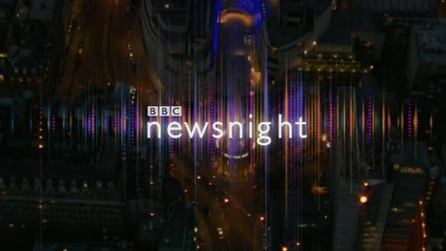 Titles for Newsnight programme