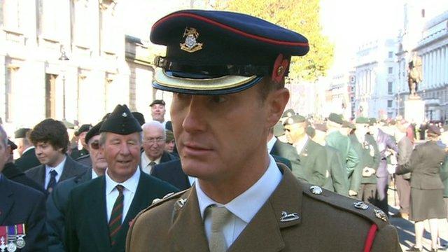 Lieutenant Colonel Zac Stenning