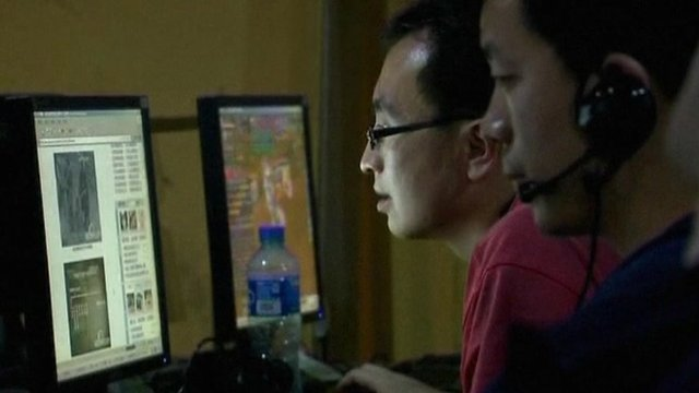 Internet users in China
