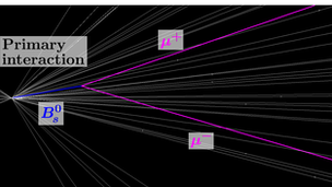 A Bs Meson decays into two muon