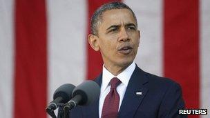 Barack Obama on Veterans Day