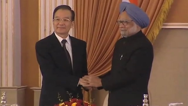 Leaders of India and China