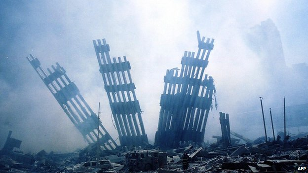 Ruins of the World Trade Center