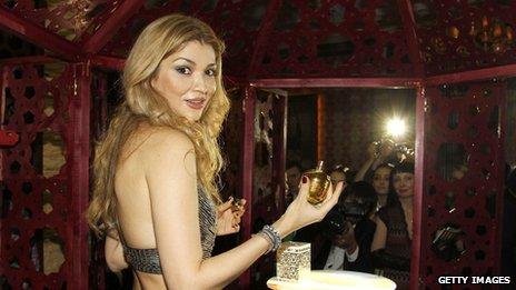 Gulnara Karimova presents a new collection in Tashkent (October 2012)