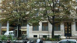 Lombard Odier Bank in Geneva