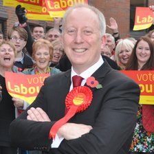 Labour candidate Andy McDonald