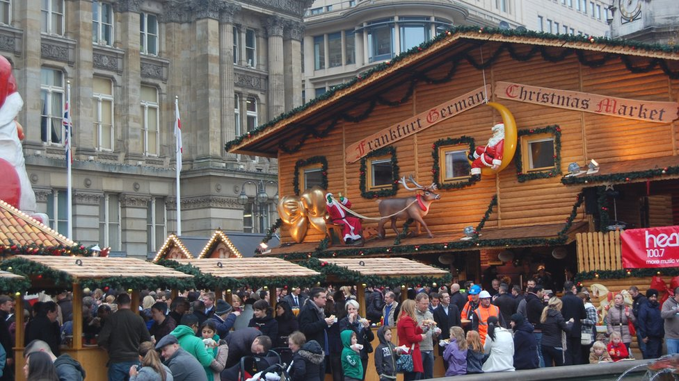 bbc news in pictures birmingham 39 s frankfurt christmas market. Black Bedroom Furniture Sets. Home Design Ideas