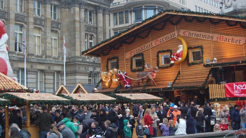 birmingham frankfurt christmas market - Birmingham Christmas Market