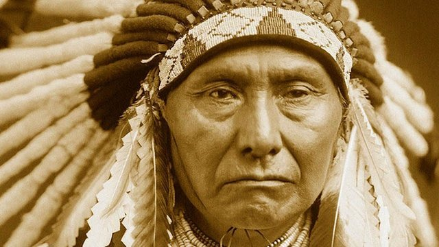 Portrait of Chief Joseph