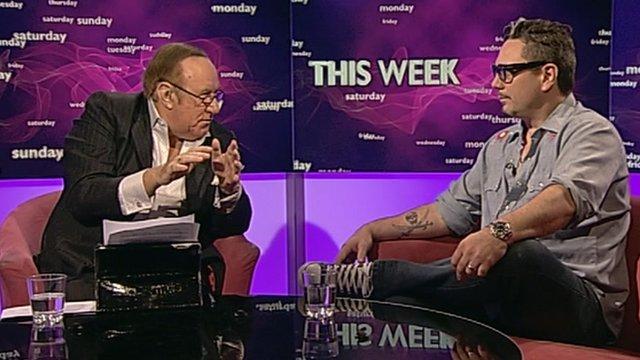 Andrew Neil and Huey Morgan