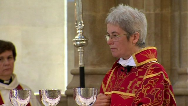 The Very Rev Frances Ward