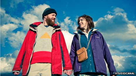 Chris (Steve Oram) and Tina (Alice Lowe) in Sightseers