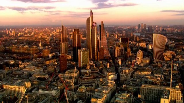 Proposed London skyline