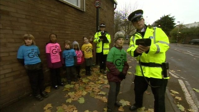 Children and police