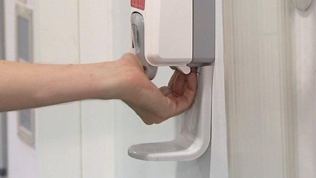 Hand gel dispenser