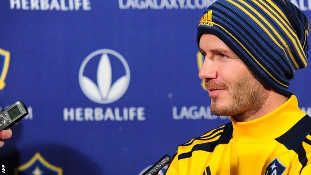 1e03404a47 David Beckham leaves LA Galaxy on a high - BBC News