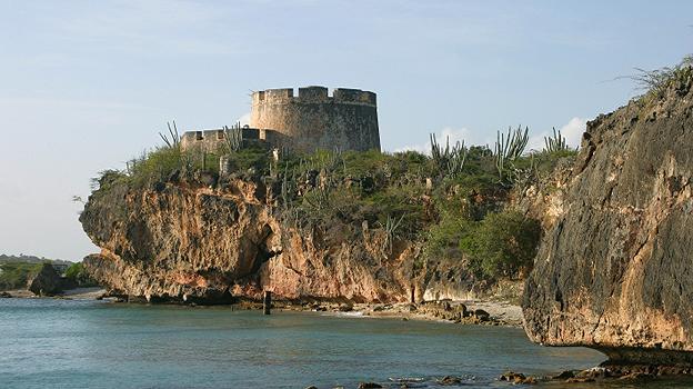 Fort Beekenburg on Curacao