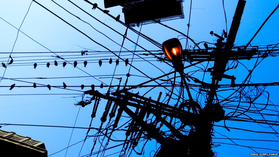 BBC News - Your pictures: Wires