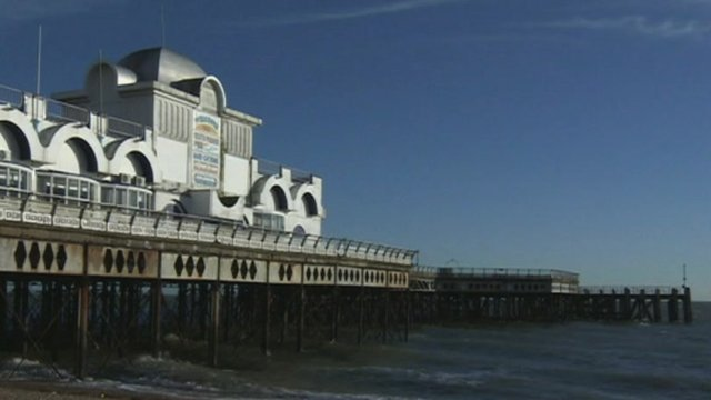 South Parade Pier in Southsea, Portsmouth
